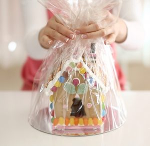 Gingerbread House in cello