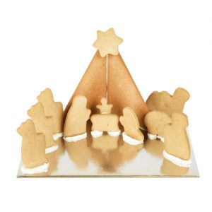Gingerbread Nativity Kit